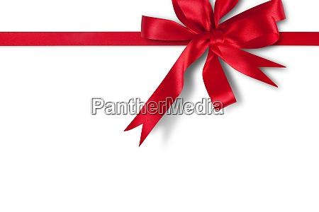 shiny and satin ribbon merry christmas