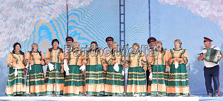 performance of the cossack choir at