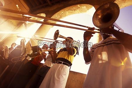 cuba havana city life musician