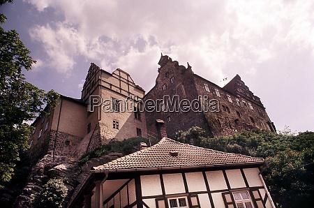castle mont in quedlinburg