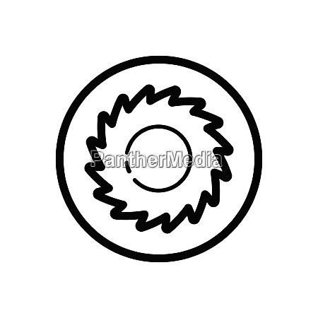 hurricane category five outline icon in