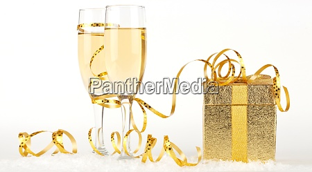 new years eve celebration background with