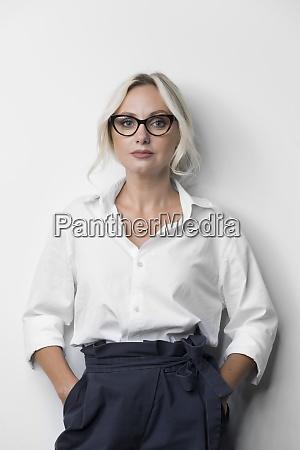 portrait confident determined businesswoman