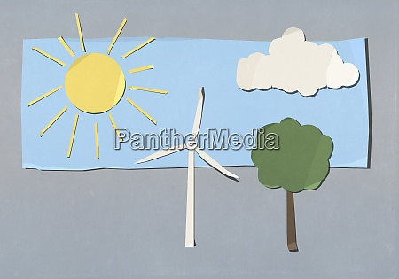 environment, and, wind, turbine, cut, out - 29095512