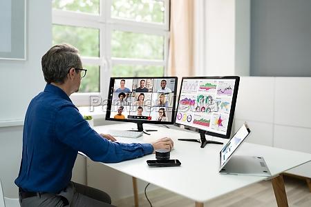 online video conference webinar meeting telework