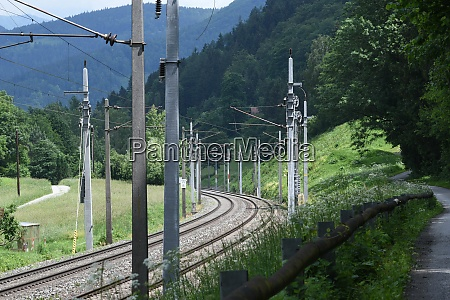 double track in rail traffic