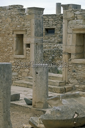 cyprus kourion roman ruins