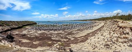 paradise sand beach in madagascar antsiranana