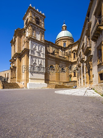 italy sicily province of enna piazza