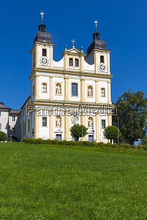 austria salzburg state flachgau pilgrimage church