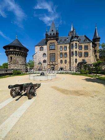 germany saxony anhalt wernigerode wernigerode castle