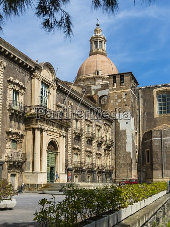 italy sicily catania university library