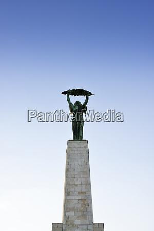 hungary budapest liberty statue