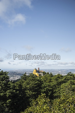 portugal sintra pena national palace