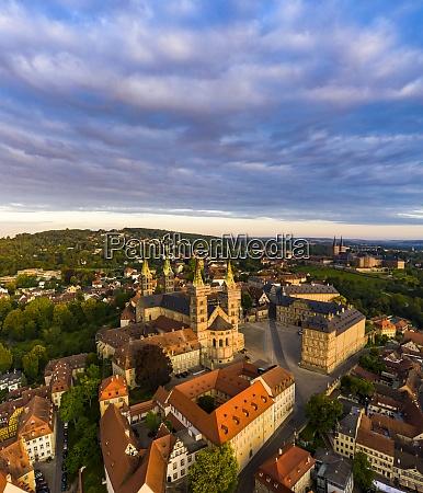 cathedral at bamberg bavaria germany