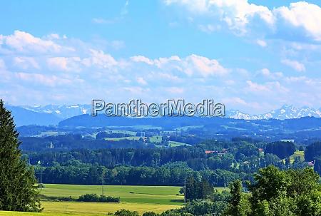 alpine foothills
