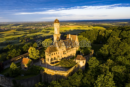 germany, , bavaria, , bamberg, , helicopter, view, of - 29113177