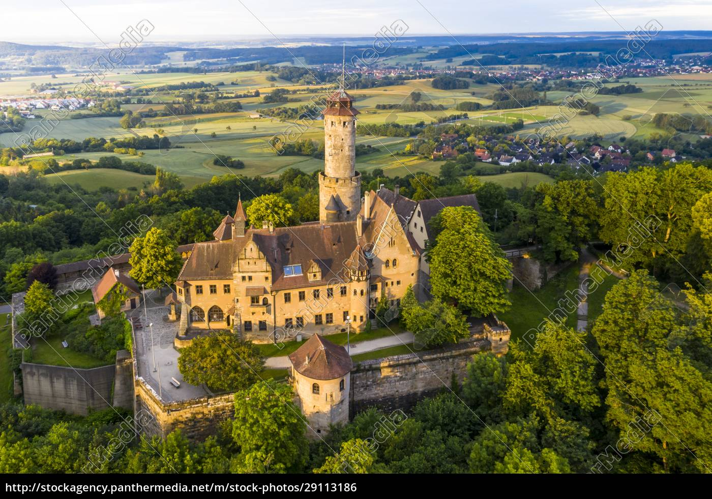 germany, , bavaria, , bamberg, , helicopter, view, of - 29113186
