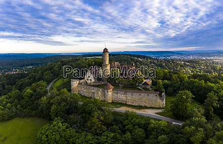 germany, , bavaria, , bamberg, , helicopter, view, of - 29113190