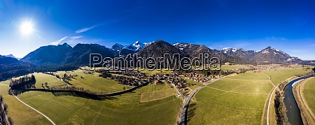 germany, , bavaria, , schleching, , helicopter, panorama, of - 29113131