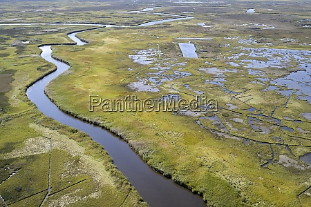 usa, , maryland, , drone, view, of, marshes - 29113301