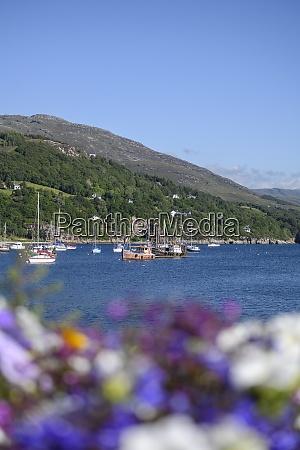 uk scotland ullapool boats sailing near