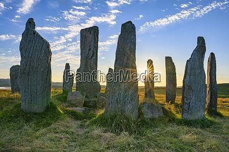 uk scotland callanish callanish stones at