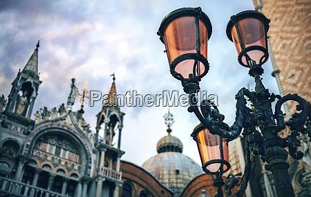 italy venice lantern at st marks