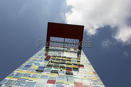 germany duesseldorf media harbour colorium