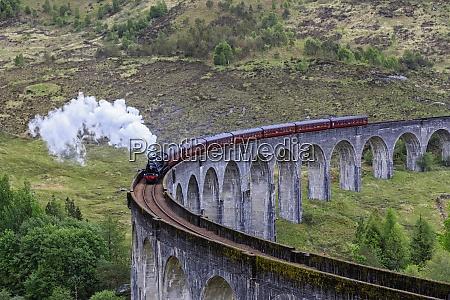 great britain scotland scottish highlands glenfinnan