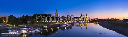 germany dresden historic city center and
