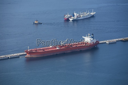 gibraltar harbour tanker ship