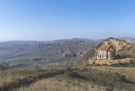 georgia kakheti chapel at the border