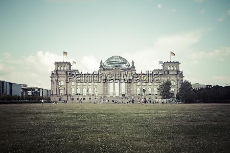 germany berlin berlin tiergarten reichstag building