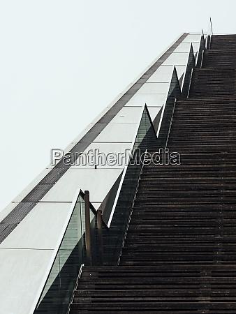 hamburg building dockland steps