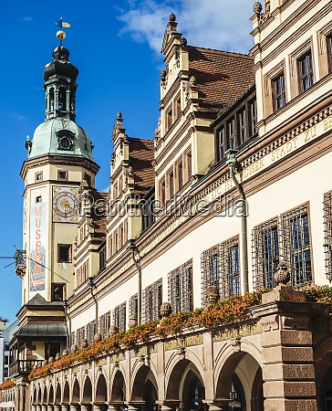 germany leipzig old city hall