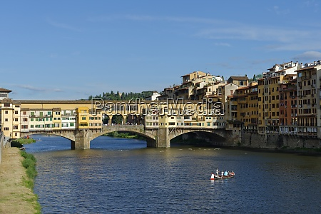italy tuscany florence ponte vecchio and