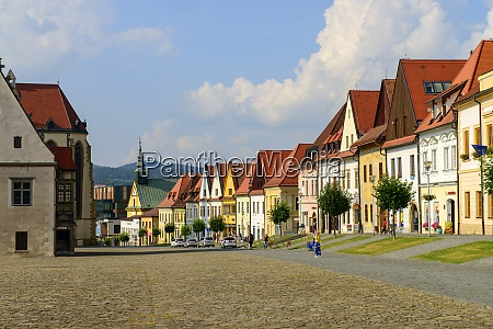slovakia bardejov old town city sqare