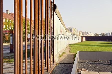 germany berlin berlin wall memorial at