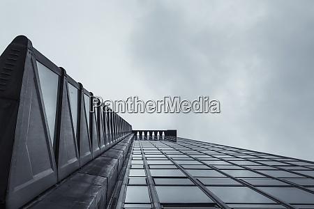 canada vancouver facade of modern office