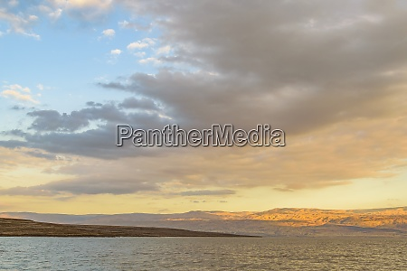 dead sea landscape israel