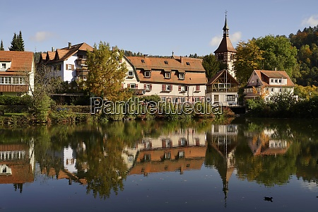 germany baden wurttemberg bad liebenzell with