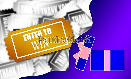 enter to win ticket in the