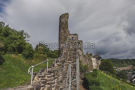 germany north rhine westphalia oberwesel old