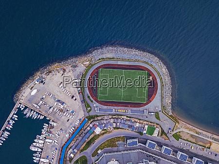 russia primorsky krai vladivostok aerial view