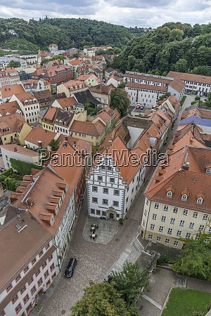 germany saxony meissen houses in the