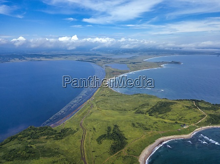 aerial view of cape gakkel and