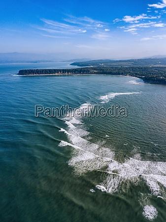 russia primorsky krai nakhodka aerial view