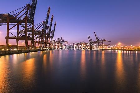 germany hamburg port of hamburg container
