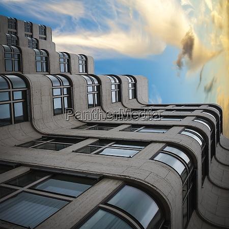 germany berlin facade of shell house